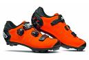 Chaussures VTT Sidi Dragon 5 SRS Mat Orange Noir