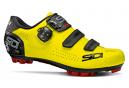 Chaussures VTT Sidi Trace 2 Jaune Fluo Noir