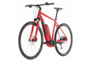 Cube Cross Hybrid Pro 400 Hybrid Bike Rouge / Gris