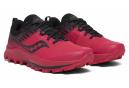 Chaussures de Trail Femme Saucony Peregrine 10 ST Rose / Noir