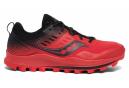 Chaussures de Trail Saucony Peregrine 10 ST Rouge / Noir