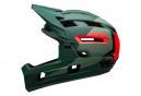 Casque Intégral BELL Super Air R Mips Vert Rouge