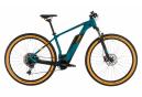 Würfelreaktion Hybrid Pro 500 Sram SX 12 V Blau / Orange 2020 Elektrisches halbstarres MTB