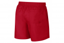 Nike Sportswear Short University Rouge Blanc