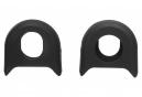 Protector de manivela Rotor KAPIC Carbon Bumper Black