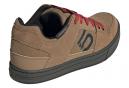 Paire de Chaussures VTT Five Ten Freerider Marron Noir Rouge