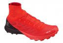 Chaussures de Trail Salomon S/LAB Sense 8 SG Rouge / Noir
