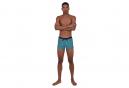 Speedo Valmilton Aqsh Navy Blue White Swimsuit