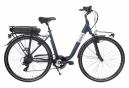Vélo de Ville Électrique Mixte Bicyklet Claude Shimano Tourney 7V 500 Wh 700 mm Bleu Nuit Mat 2020