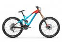 VTT Tout Suspendu Mondraker Summum Carbon Pro Team Shimano Saint 10v Bleu / Orange 2020