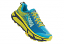 Chaussures de Trail Femme Hoka One One Evo Mafate 2 Bleu / Jaune
