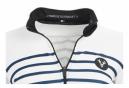 Maillot Manches Longues Femme LeBram Ventoux Blanc Coupe Ajustée