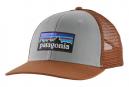Casquette Patagonia P-6 Logo Gris Marron Unisex