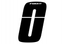 Number ro for Insight Plate 8cm Black