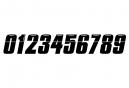 Numero per Insight Lateral Plate 5cm Nero