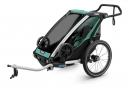 Remorque à Enfant Thule Chariot Lite Bleu Turquoise Noir