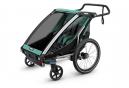 Remorque à Enfant Thule Chariot Lite 2 Bleu Turquoise Noir