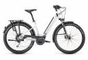 VTC Électrique Moustache Bikes Samedi 27 Xroad 3 Open Shimano Deore 10V 500 Blanc 2020