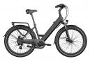 Legend Milano Vélo Electrique Ville Smart eBike Roues de 26 Pouces, Freins Disque Hydraulique, Batterie 36V 14Ah Panasonic (504Wh), Autonomie jusqu'à 100km, Noir Onyx