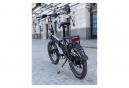 Legend Monza Vélo Electrique Pliant Smart eBike Roues de 20 Pouces, Freins Disque Hydraulique, Batterie 36V 10.4Ah Sanyo-Panasonic (374.4Wh), Argent