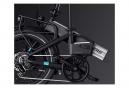 Legend Monza Vélo Electrique Pliant Smart eBike Roues de 20 Pouces, Freins Disque Hydraulique, Batterie 36V 10.4Ah Sanyo-Panasonic (374.4Wh), Noir Onyx