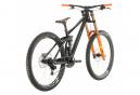 VTT Tout Suspendu Cube Two15 SL Sram GX DH 7v Noir / Orange 2020