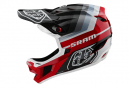 Casque Intégral Troy Lee Designs D4 Carbon Mirage Mips Noir / Rouge