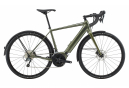 Gravel Bike Électrique Cannondale Synapse Neo EQ Shimano Tiagra 10V 2020 Kaki / Vert