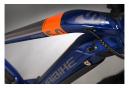 Bicicleta Híbrida Eléctrica Haibike SDuro Cross 5.0 700 Bleu / Orange