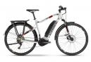 VTC Électrique Haibike SDuro Trekking 2.0 Shimano Deore 10V 500 Gris / Rouge 2020
