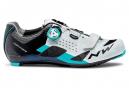 Zapatillas de carretera Northwave Storm Carbon en blanco / azul