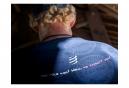 Maillot manches longues Compressport Training Mont Blanc 2020 Bleu