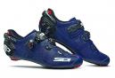 Par de zapatos Sidi Wire 2 Carbon azul mate