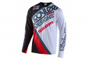 Maillot manches longues Troy Lee Designs Sprint Noir blanc