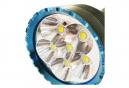 Lampe de poche LED Olight X9R Marauder d'une puissance maximale de 25 000 lumens, batterie et chargeur compris