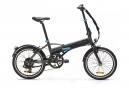 Bicicleta plegable Btwin TILT 500 ELECT Black