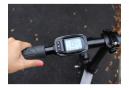 Vélo de ville pliant électrique yeep.me 1600 LE CITADIN Noir