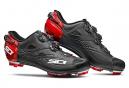 Chaussures VTT SIDI Tiger SRS Carbon Noir Mat / Rouge