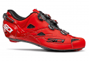 Chaussures Route SIDI Shot Rouge Mat