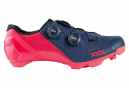 Chaussures VTT Bontrager XXX Bleu Nautical / Rose Radioactive