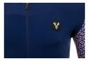 LeBram Short Sleeve Jersey Aspin Navy Blue Slim Fit