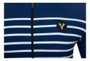 Maillot Manches Courtes LeBram Ventoux Marine Coupe Ajustée