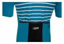 LeBram Ventoux Short Sleeve Jersey Sapphire Blue Slim Fit