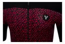 LeBram Short Sleeve Jersey Croix de Fer Black Bordeaux Slim Fit