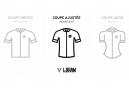 LeBram Short Sleeve Jersey Croix de Fer Black Lightweight Fit Cup