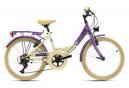 Vélo enfant 20'' Kahuna beige-violet TC 34 cm KS Cycling