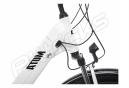 BH Atom City Wave Hybrid City Bike Shimano Acera 8S 500 Wh 700 mm White Black 2020