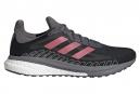 Zapatillas adidas running SOLAR GLIDE ST 3 M para Hombre Negro / Rojo