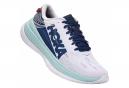 Chaussures de Running Hoka One One Carbon X Blanc / Bleu
