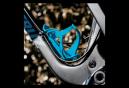 Porte Bidon Lezyne Flow Cage SL Enhanced Latéral Gauche Bleu